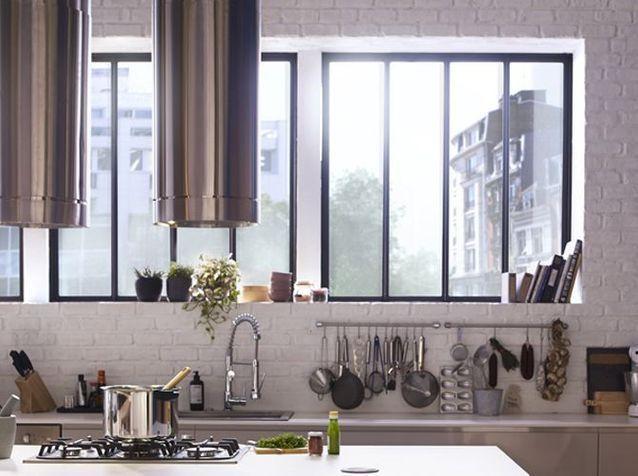 La Hotte Design S Affiche En Cuisine Avec Images Hotte Design Cuisines Design