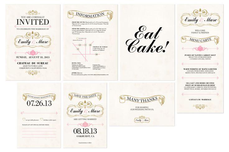 Wedding Invitations Fresno Ca: 31 Best Wedding Branding Images On Pinterest