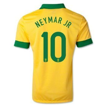 #10 NEYMAR JR Brazil Home Kid Soccer Jersey & Matching Short Set - Size: (for 9-12 years of age)