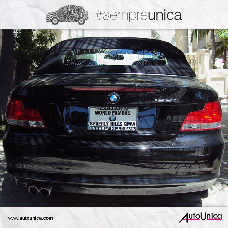 Un'auto #sempreunica è un'auto con targa personalizzata... più unica di così!