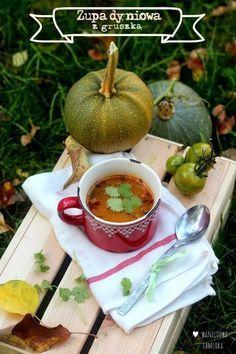 Waniliowa Chmurka: Dyniowa z gruszką | #obiad #zupa