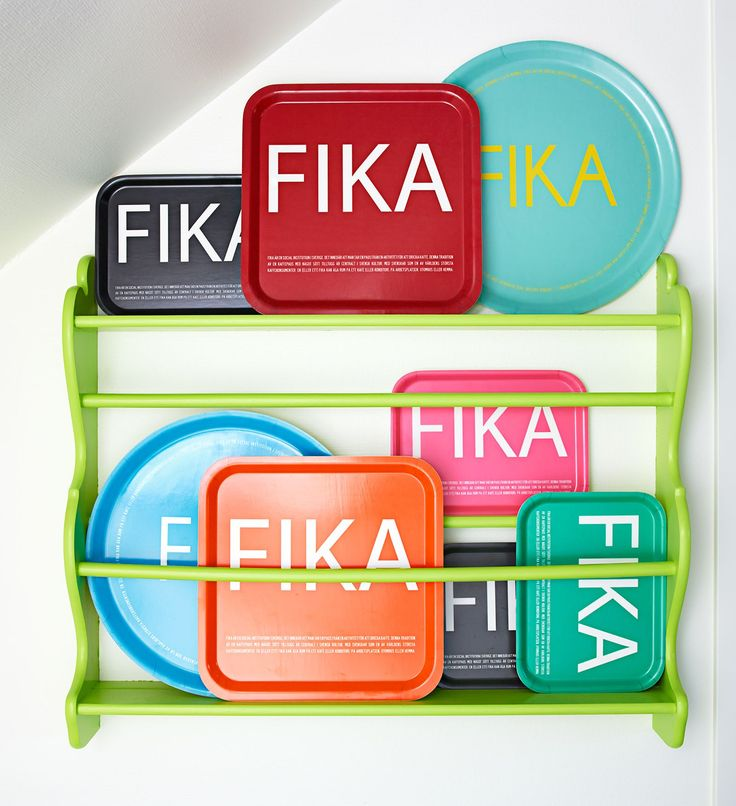 FIKA TRAY: FIKA Serving Tray, Swedish, large 38 cm. Tarjotin 😊