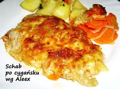 W mojej kuchni: Schab po cygańsku wg Aleex