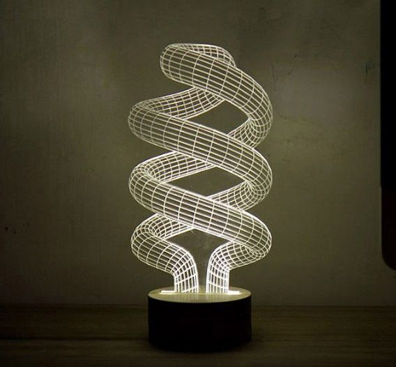 Cheap Sale Jellyfish 3d Led Lamp Night Light Novelty Gift For Chilren Led Illusion Atmosphere Sleep Table Lamp Touch Colors Changing Light Distinctive For Its Traditional Properties Led Lamps Lights & Lighting