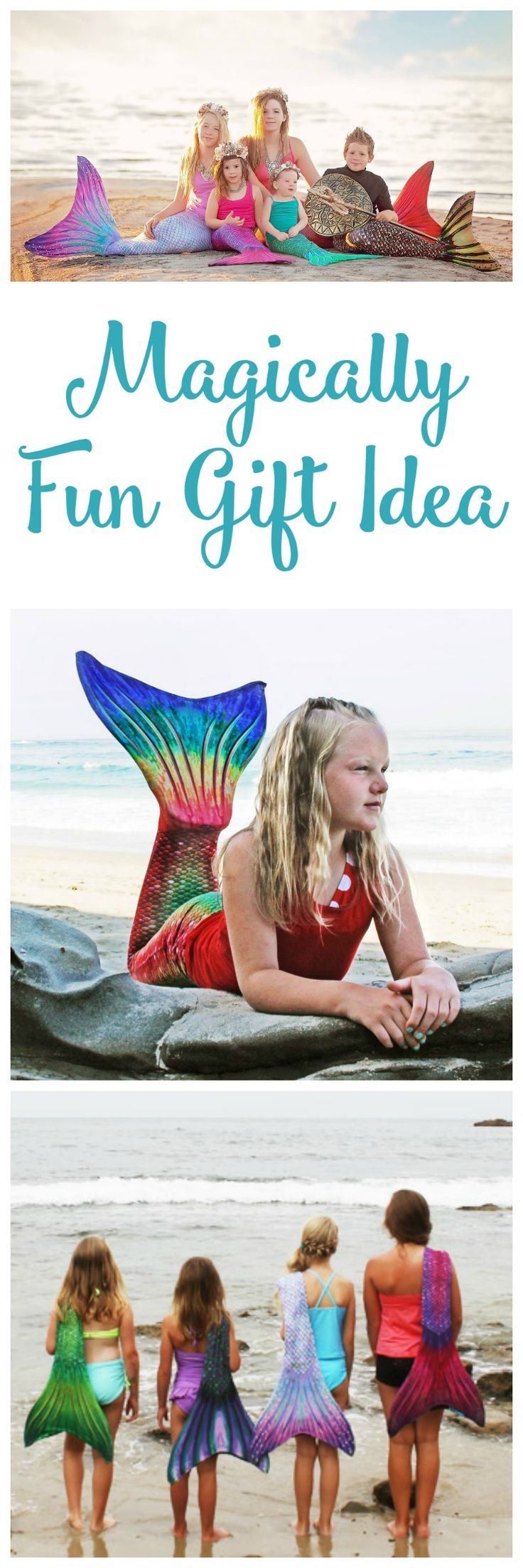 Magically Fun Gift Idea – Sun Tail Mermaid Tails for Swimming #Giveaway