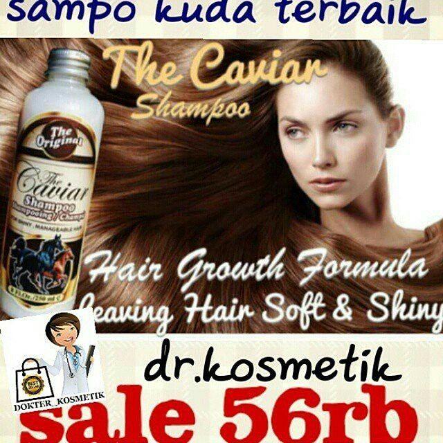 SHAMPOO CAVIAR (KUDA)  HARGA:  Rp 56.000  Hanya di @dokter_kosmetik @dokter_kosmetik LOKASI: JAKARTA  INFORMASI DAN CARA ORDER:  LINE: @dr.kosmetik (pake @yah)  BBM: 57B39783 WA : 085723291777 http://ift.tt/1urFYRu  Ini bukan shampoo buat kuda ya.. Tp krn gambarnya kuda makanya dijuluki shampo kuda.. Shampoo ini sgt terkenal d Australia buat rambutmu tebal dan kuat layaknya rambut kudaaaa TEROBOSAN BARU UNTUK PERAWATAN KULIT KEPALA DAN RAMBUT..!! The Caviar Shampoo For Faster Growing…