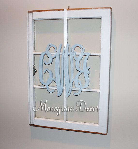 12 INCH Wooden monogram, Wall Letters, Wedding Decor, Home Decor Wood Monogram, Unpainted vine monogram on Etsy, $20.00