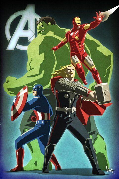 Avengers - the Core Four. @Caitlin Burton Burton Hillygus @Sonja T T Decker I love my girls ::