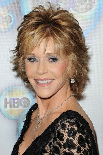 "Jane Fonda formal short straight hairstyle looks brilliant and elegance at the ""Monster-In-Law"" L.A Premiere thanks to the help of this sassy style. Description from sejemi.org. I searched for this on bing.com/images"