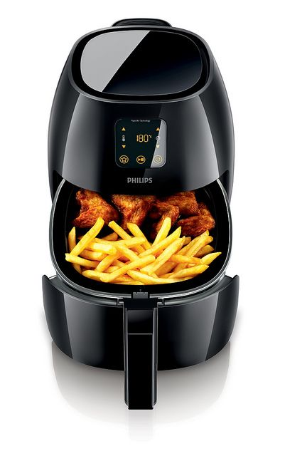 Is this considered an office gadget if I put it in my office? Yum.   Philips Airfryer XL HR924001: Philips launches new Airfryers for a variety of great tasting food with up to 80% less fat