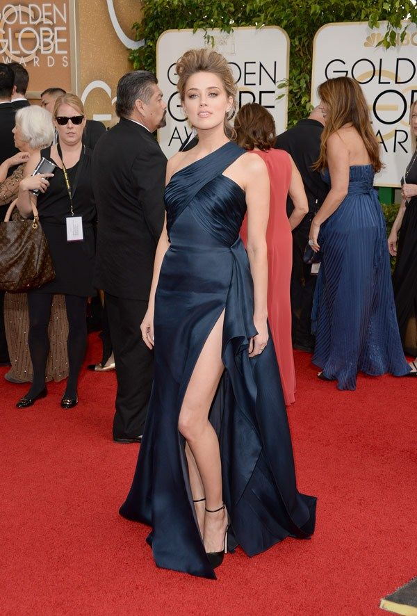 Amber Heard Golden Globes 2014