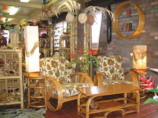 1940 S Rattan Furniture Set At Bamboo Source Tiki