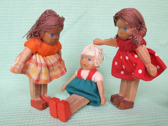 Lotte Sievers-Hahn - wooden dolls house dolls | Flickr - Photo Sharing!