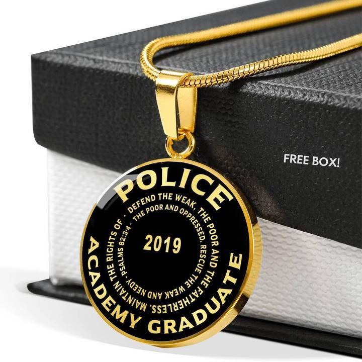 Class of 2019 police academy graduate psalms 8234