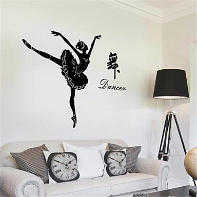 Leisure+Wall+Stickers+Plane+Wall+Stickers+Decorative+Wall+Stickers,Vinyl+Material+Home+Decoration+Wall+Decal+–+CAD+$+13.51