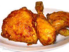 Ayam Bakar Pedis Manis - Gegrilde kip in een jasje van sambal