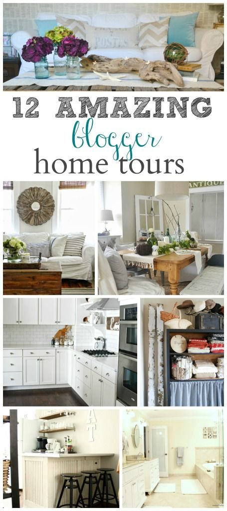 12 Amazing Blogger Home Tours