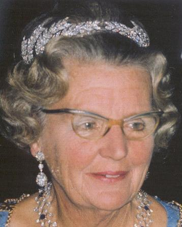 Ears of Wheat Tiara (Netherlands)worn by Queen Juliana