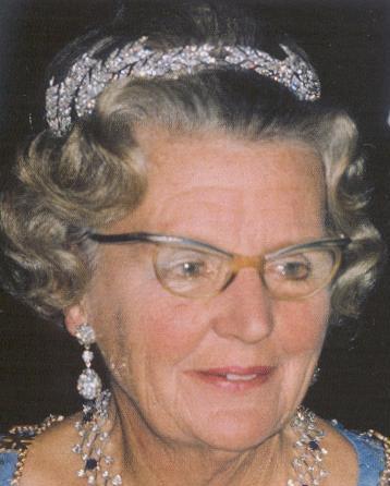 Ears of Wheat Tiara (Netherlands)worn by Queen Juliana