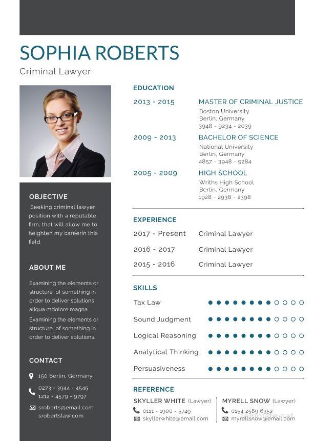 creative resume sample download