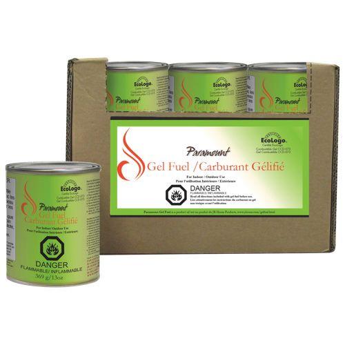 Paramount Ecologo Gel Fuel (GF-CAN-03) : Patio Heaters - Best Buy Canada case of 24