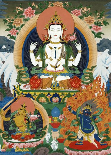 buddhism the three jewels Buddhism is the name for a complex system of beliefs developed around the teachings of the buddha the three jewels festivals and celebrations the spread of buddhism.