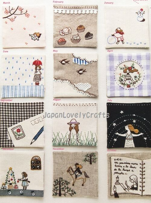 Stitch Idees Vol. 11  Japanese Embroidery by JapanLovelyCrafts, $21.00
