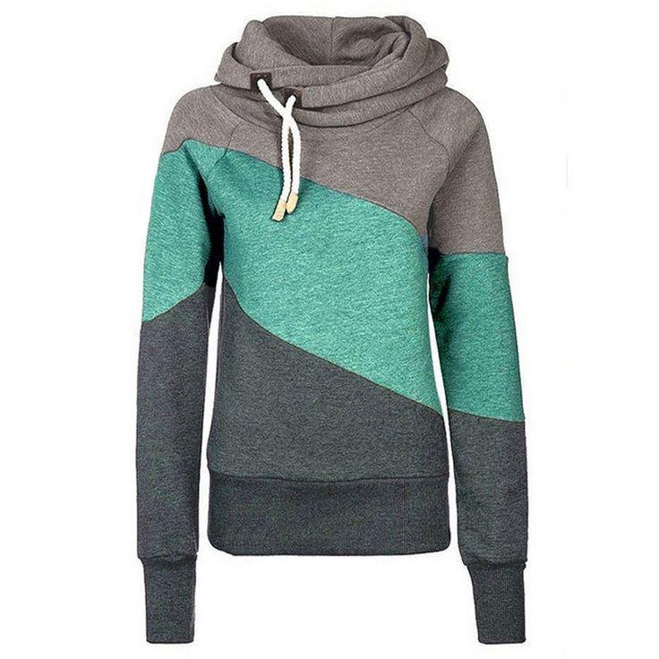 High Quality Fashion Turtleneck Hoodie //Price: $37.98 & FREE Shipping //     #hashtag2