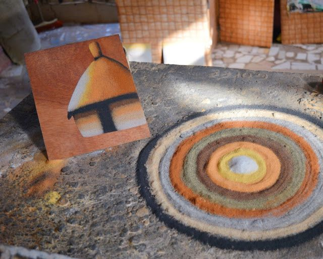 The AfroFusion Spot: Travel Diaries: Exploring Goree Island in Dakar, Senegal, art, sand art, goree, dakar, senagal, travel, trave diaries, african art, african, africa, tour, tourist