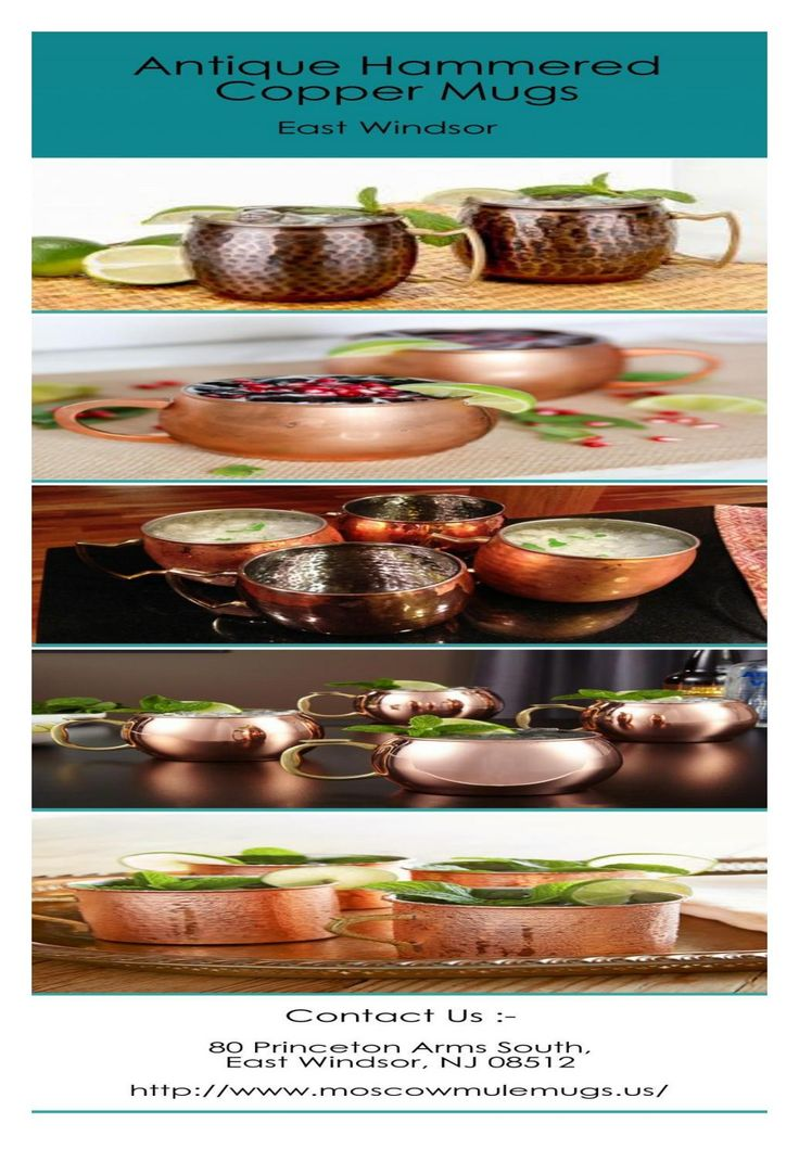Solid Antique Hammered Copper Mugs Sale In East Windsor  We are a leading store in providing high quality of solid antique hammered copper mugs sale in East Windsor at best prices. We offer a huge range of copper mugs for sale. If you want to buy these mugs, then place an order now. For more details visit at http://www.moscowmulemugs.us.