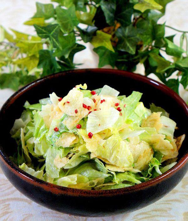 レタスとポテチのマヨ和え by manngo | レシピサイト「Nadia ...