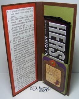 Ten Rules of Chocolate-chocolate bar holder