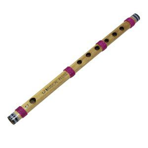 Amazon.com: Proffesional Level Bamboo Flute Bansuri Wood Wind Music Instrument 13 Inches: Musical Instruments