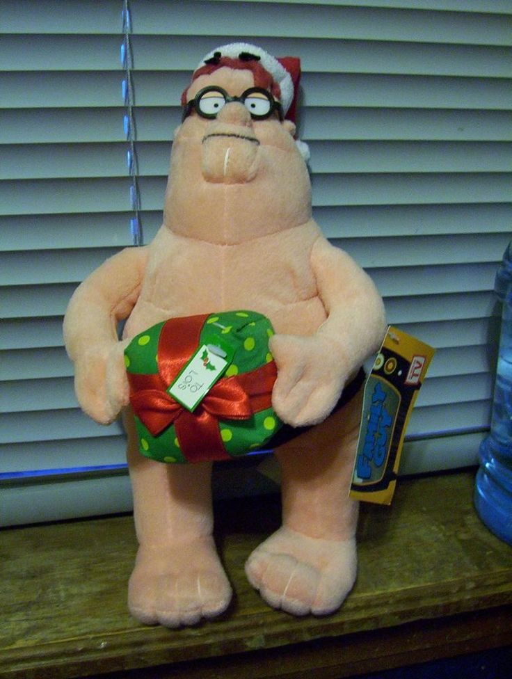 NEW FAMILY GUY - PETER GRIFFIN MERRY CHRISTMAS PLUSH - VERY RARE