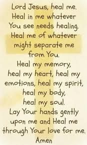 prayer for strength and healing bible - Google Search