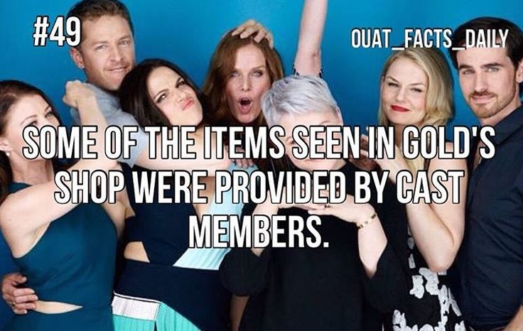 #49 Tag people you know who are as crazy as this cast!!! #ouat #onceuponatime…