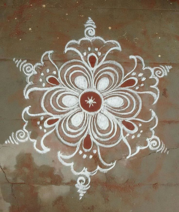 Kolam Rangoli Indian Rangoli Kolam Designs Beautiful