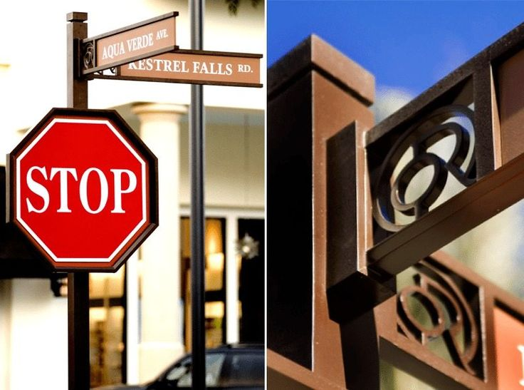 Otay Ranch Environmental Graphics Branding Placemaking Wayfinding Outdoor Street Signage Regulatory Sign Details