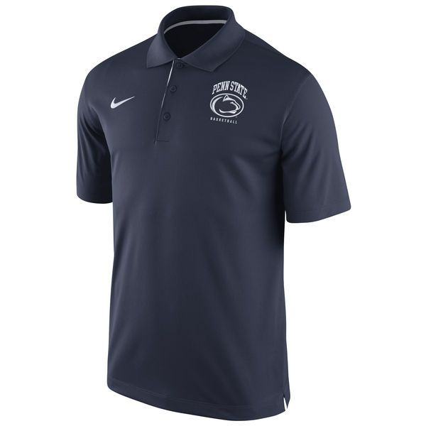 Penn State Nittany Lions Nike Performance Basketball Polo – Navy Blue - $44.99