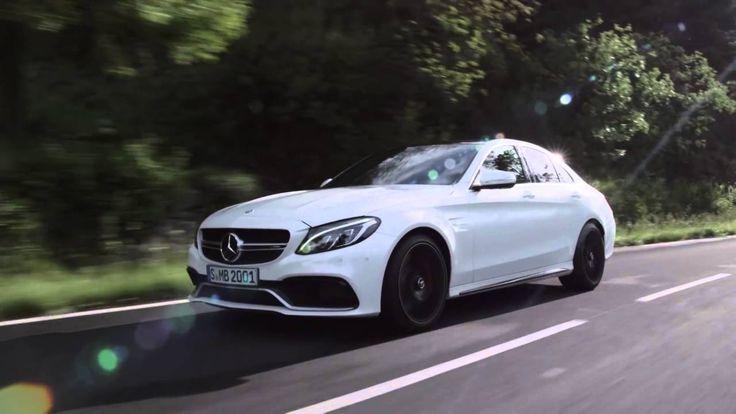 2015 Mercedes Benz C63 AMG S driving scenes