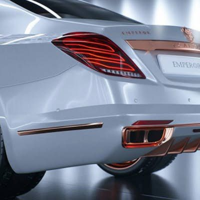 Scaldarsi gives the Maybach S600 a shiny new suit