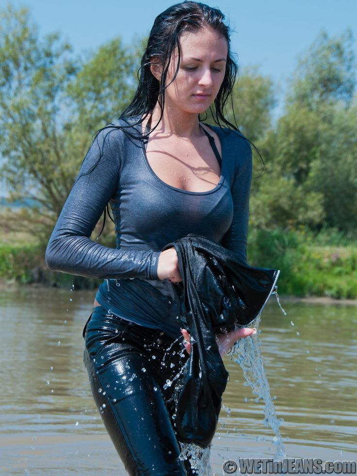 Pin by ralph fred2 on WETLOOK2 | Wet t shirt, Celebs, Blue