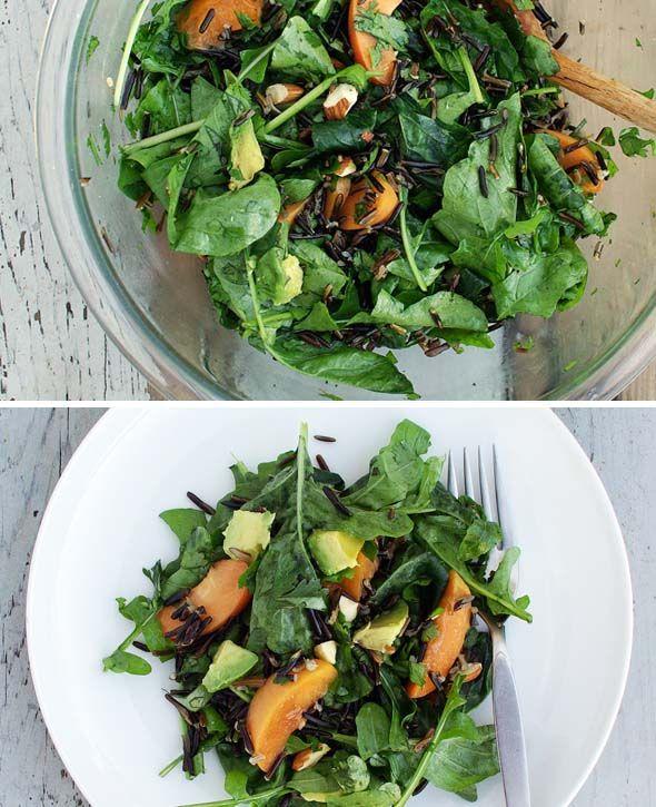 Arugula, Wild Rice & Apricot Salad