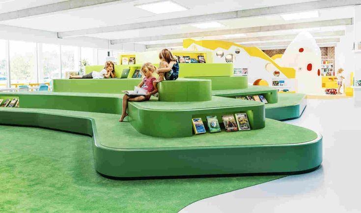 Детская библиотека в Дании — HQROOM