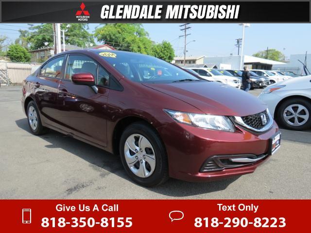 2014 *Honda* *Civic* *Sedan* *LX* 23k Miles $14,995