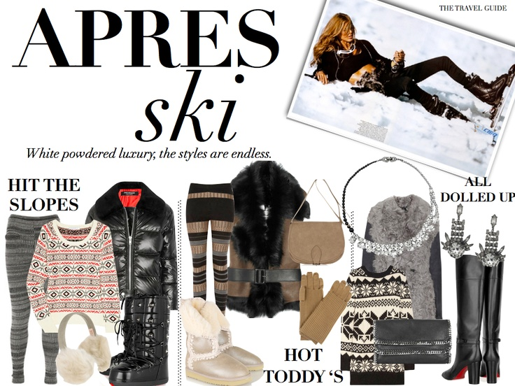 Apres Ski / Hit The Slopes Outfit Builders