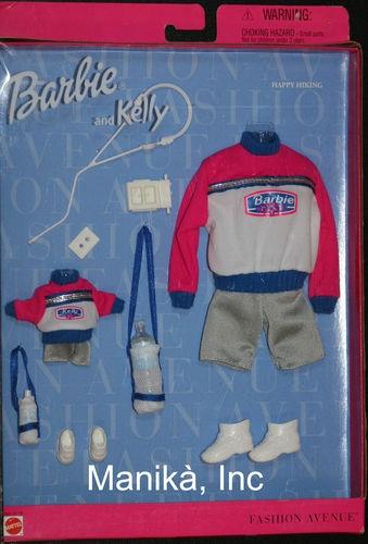 Barbie Kelly Matchin' Styles Fashion Avenue Happy Hiking Fashion 24321 0980 | eBay