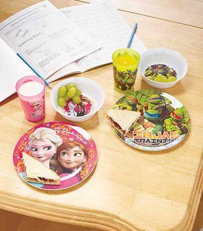 3-Pc. Licensed Kids' Meal Sets