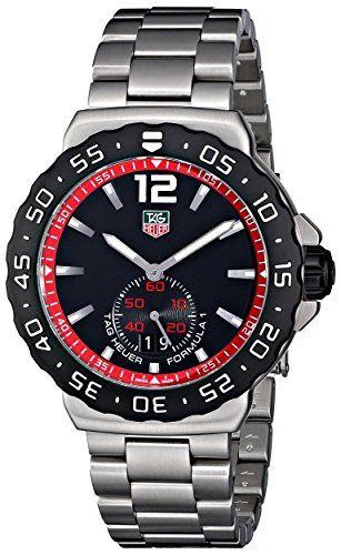 Tag Heuer Formula 1 WAU1114.BA0858 42 Silver Steel Bracelet & Case Men's Quartz Watch