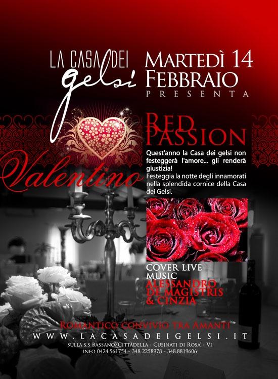 Cena romantica di San Valentino  Vicino Bassano (Vicenza) Veneto